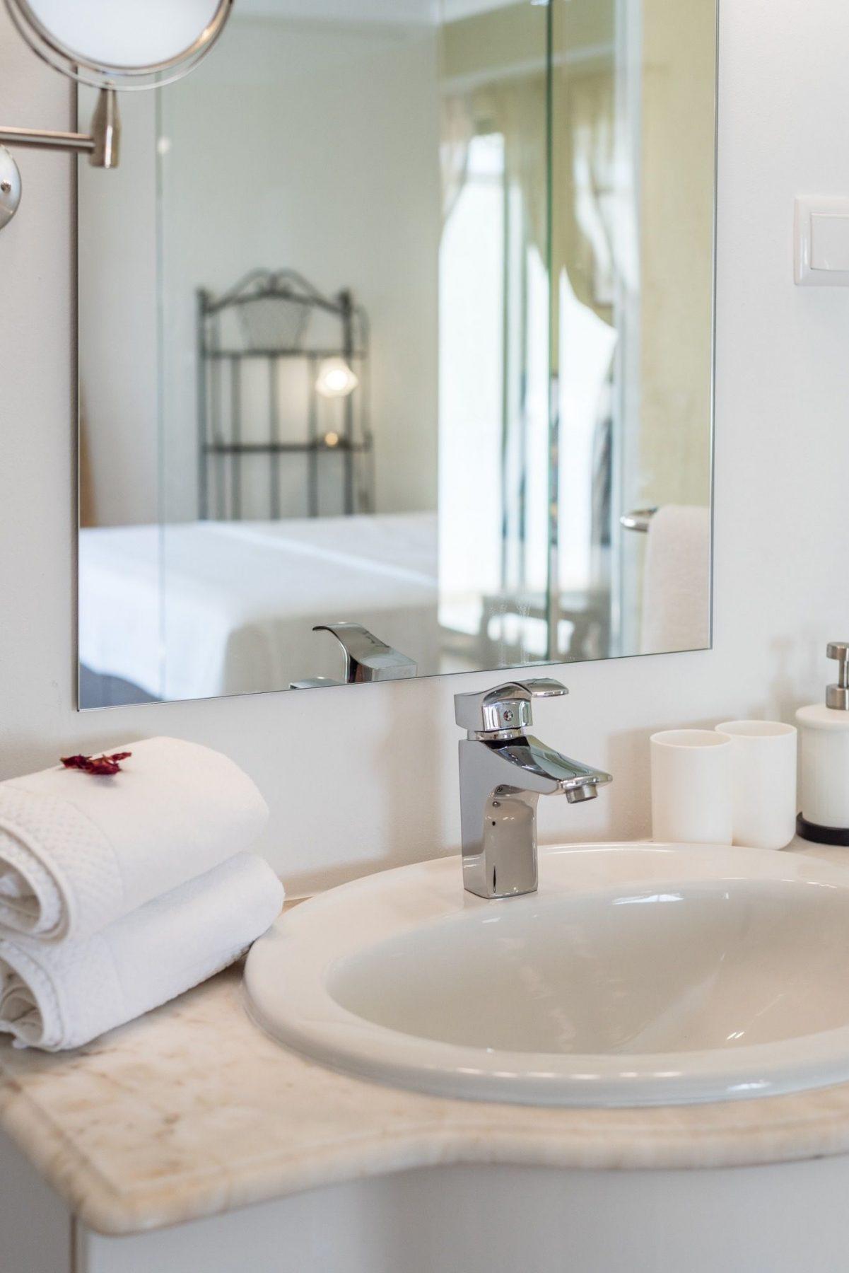 Rosemary bathroom mirror